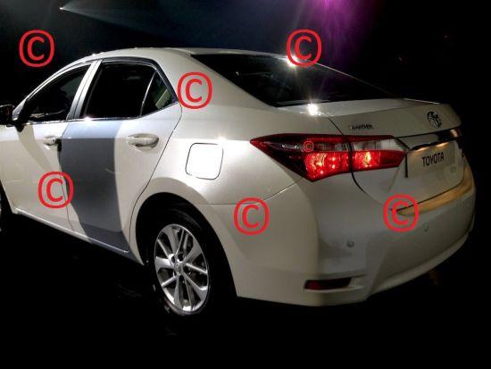 2014 Toyota Corolla image leak 1