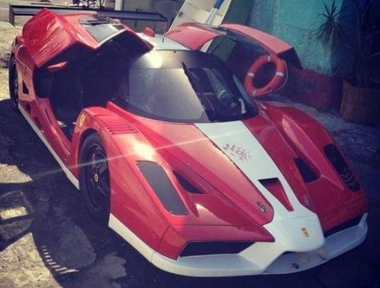 Ferrari FXX In Fast & Furious Trailer