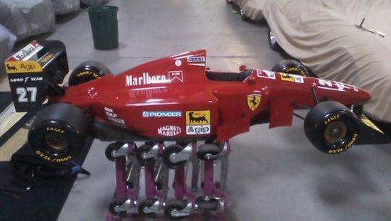Half-size Ferrari F1 test car auction  9