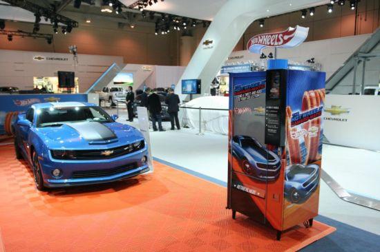 Hot Wheels Camaro-matic Trending Machine
