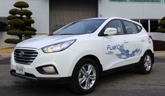 Hyundai ix35 Fuel Cell 1