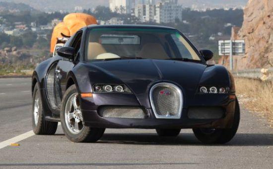 Maruti Esteem based Bugtti Veyron replica