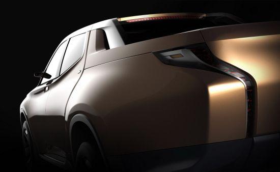 Mitsubishi GR-HEV hybrid Pick-up