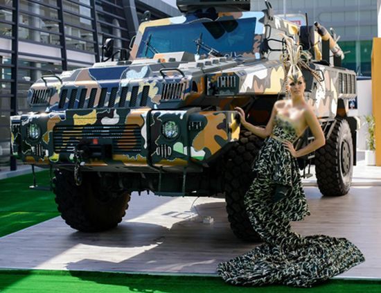 World's Toughest Vehicle Gets Couture Fashion Makeover By Paramount Group
