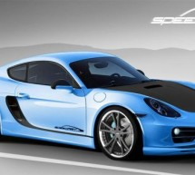SpeedART announces SP81-CR package for Porsche Cayman, coming to Geneva