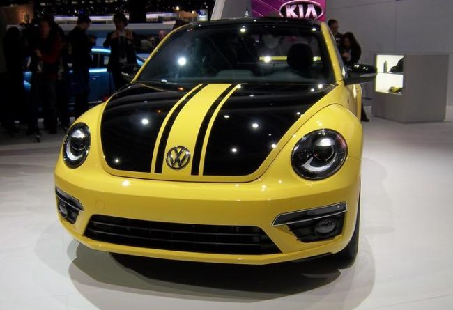 Volkswagen Beetle GSR, the fastest Beetle ever  1