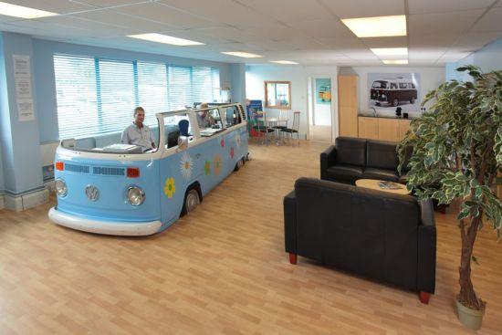 Volkswagen Van office