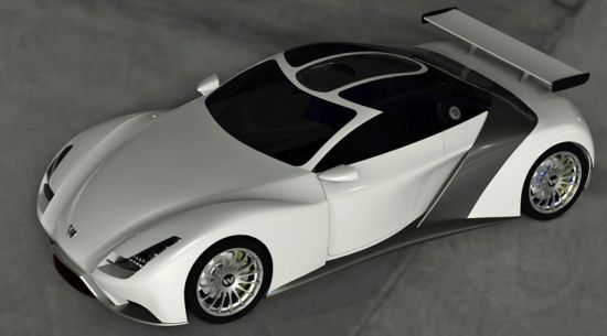 Weber Faster F1 One sportscar  7