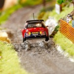 Citroen's unique Diorama on real DS3 g