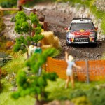 Citroen's unique Diorama on real DS3 i
