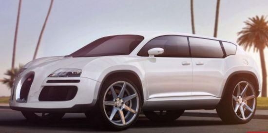 Glacius Creations' Bugatti Veyron SUV render