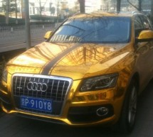 Audi Q5 SUV gets bling wings in China