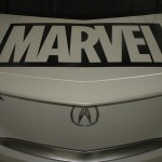 Humberto Ramos' Avengers Artwork on Acura TL  6