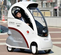 Hitachi presents Ropits – Robot for Personal Intelligent Transport System in Japan