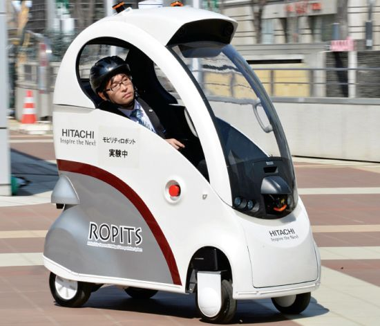 Ropits Robot for Personal Intelligent Transport System 6