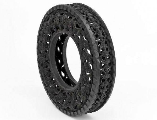 Wim Delvoye art on tires  4
