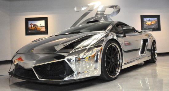 ZR Autos 1500hp chromed Lamborghini Gallardo 1