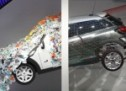 Designers add new dimension to MINI Paceman in an art form