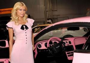 West Coast Customs Presents Paris Hilton with Custom Pink Bentley