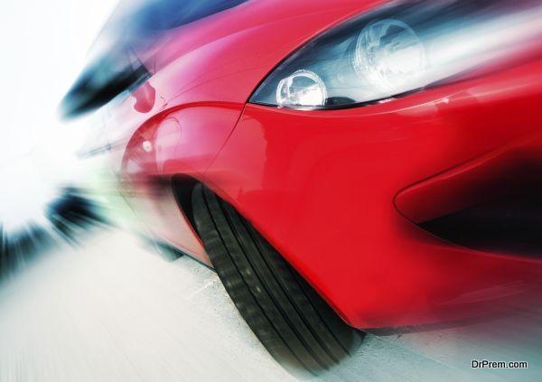 car speed concept