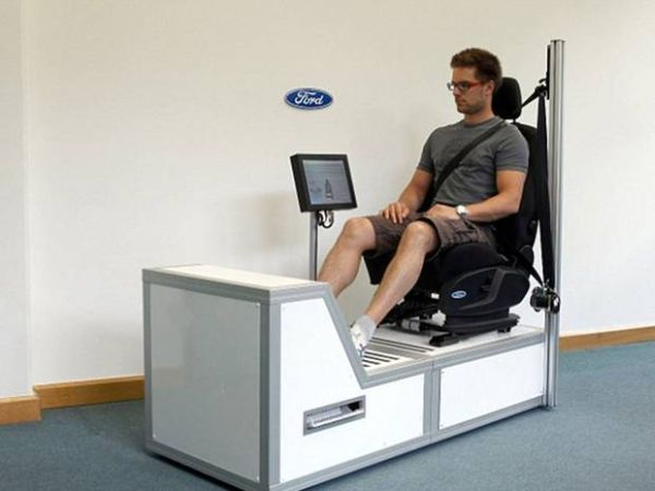 Ford has designed a car seat that detects whether the driver is having a heart attack,