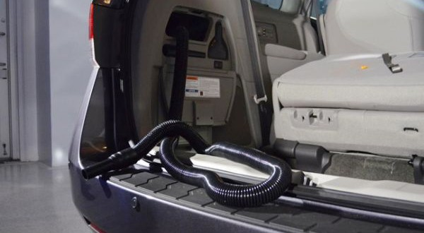 Honda model has inbuilt vacuum cleaner in the rear
