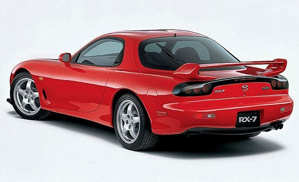 Third Generation Mazda RX7