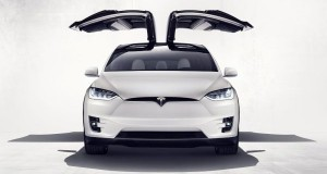 Tesla's Model X SUV 2