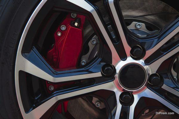 High-temperature brake pads