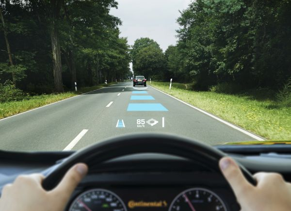 Augmented Windscreen Display