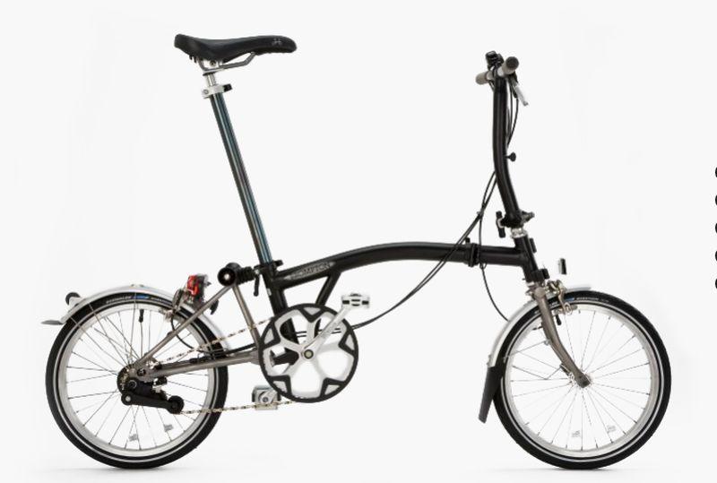 Brompton's Folding Bike
