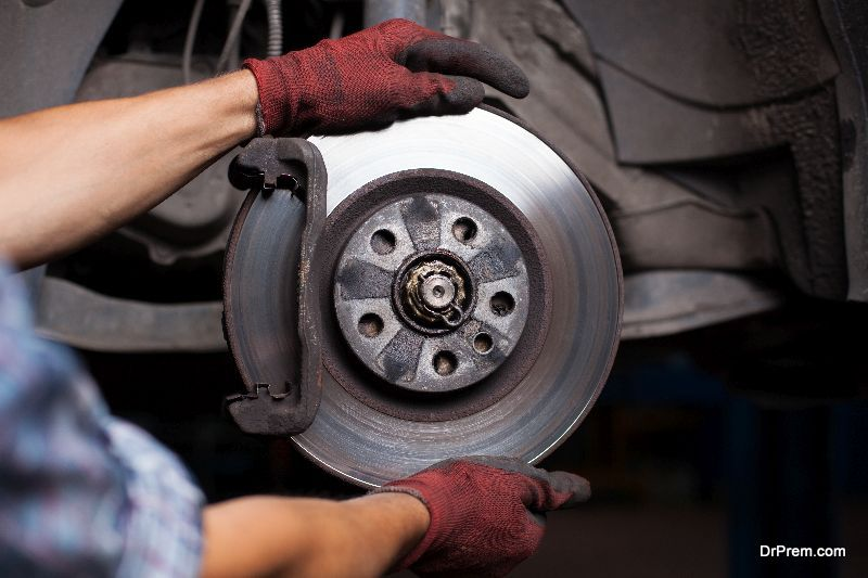 fix squeaky brakes