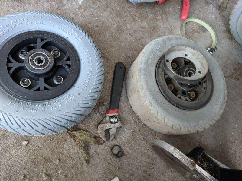 Change Car Rims