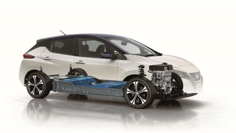 The Leaf E+ by Nissan