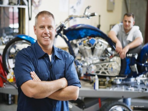 Operating a Mechanic Shop from Your Garage