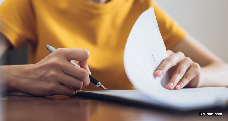 Never sign a contract without reading it
