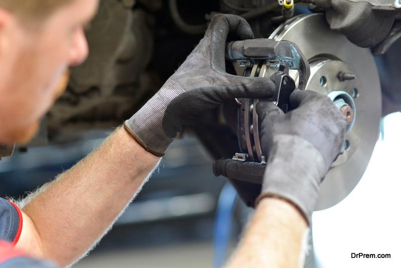 checking braking system