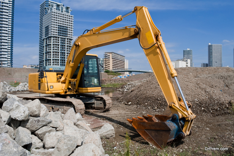 The construction machine