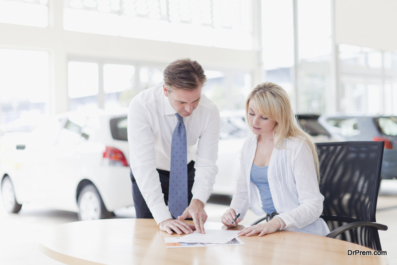 car Leasing formalities