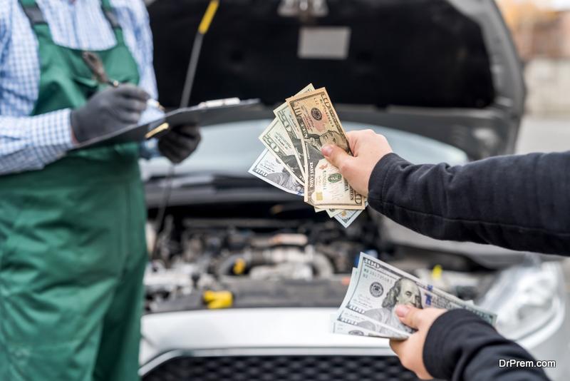 car repair cost