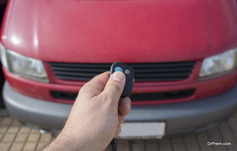 ensuring car lock