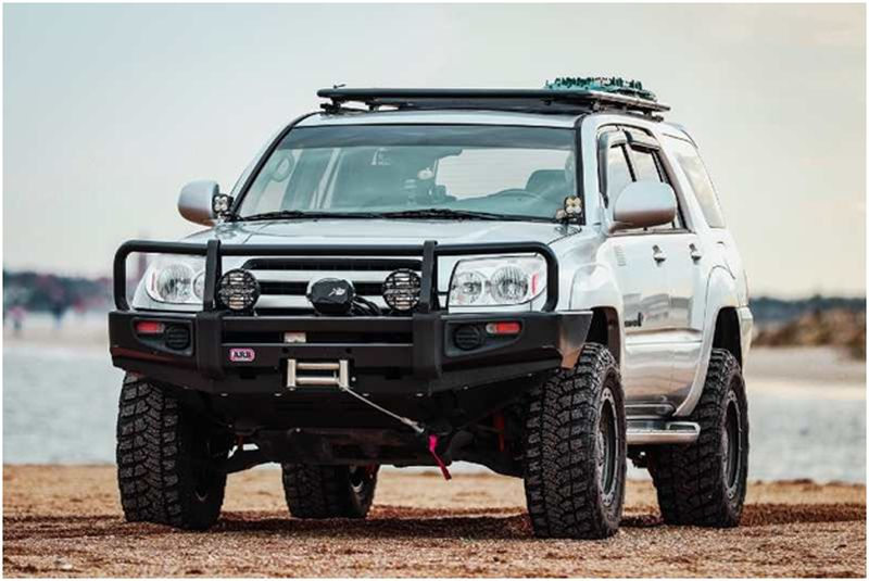 Toyota Fortuner with Bull Bars
